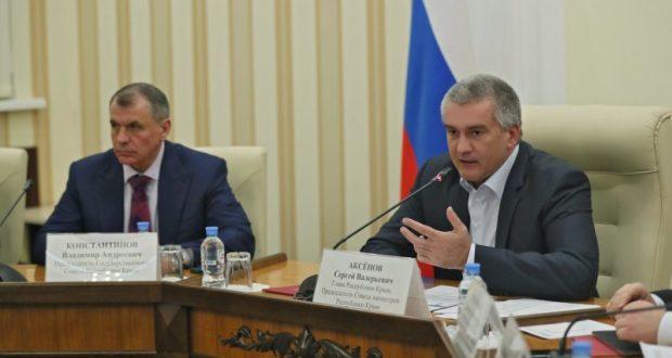 Глава Республики Крым Сергей Аксёнов о главном в 2017 году и задачах на год 2018-й