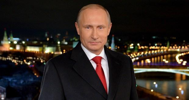 Президент РФ Владимир Путин пожелал россиянам перемен к лучшему и поблагодарил за веру в Россию