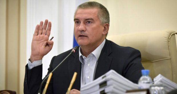 Аксёнов предупредил Правительство России о риске срыва срока открытия дороги к Крымскому мосту