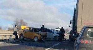 ДТП на трассе «Симферополь – Бахчисарай» парализовало движение на два часа