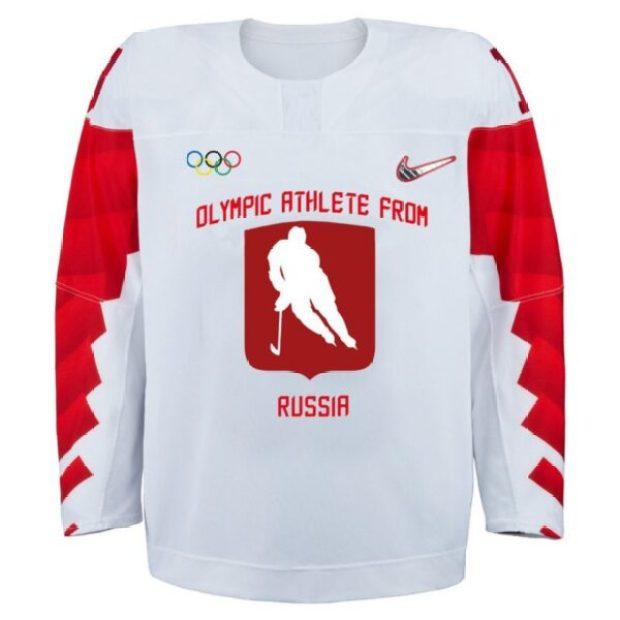 Полюбуйтесь: это форма российских хоккеистов на Олимпиаде в Пхеньяне