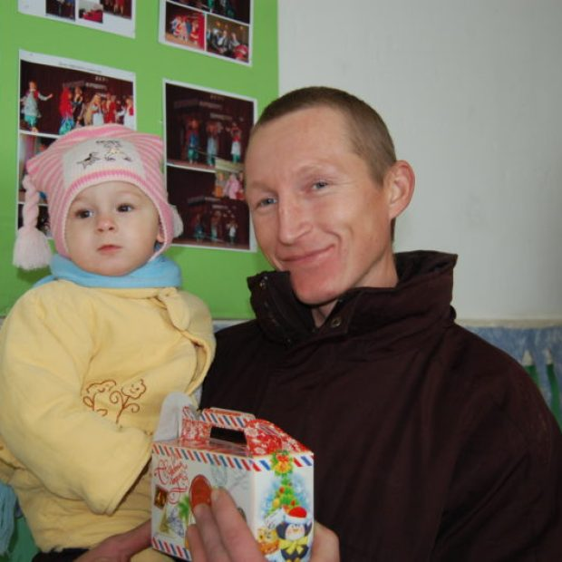 Активисты севастопольского «Добровольца» устроили настоящий Новогодний праздник в селе Родном