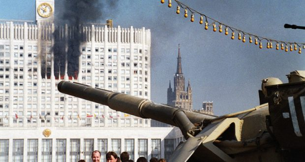 По парламенту из танков… Воспоминания «по Фрейду» украинского адмирала