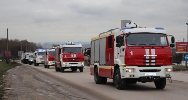 Крымские спасатели ликвидировали последствия непогоды