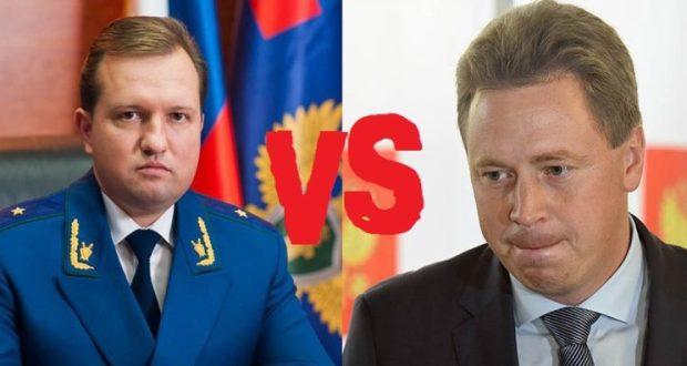 В Севастополе без скандала «в верхах» - никак. Очередное обострение: губернатор VS прокурор