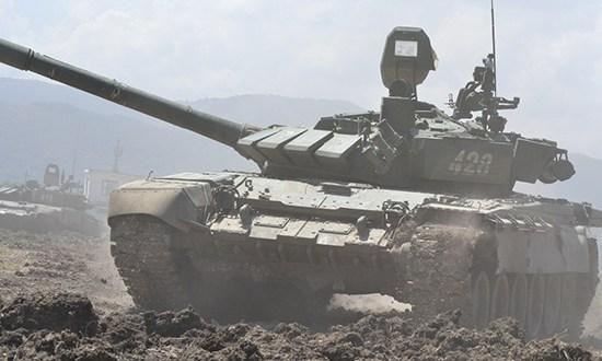 На военных полигонах в Крыму проводятся занятия по боевой подготовке армейского корпуса ЧФ