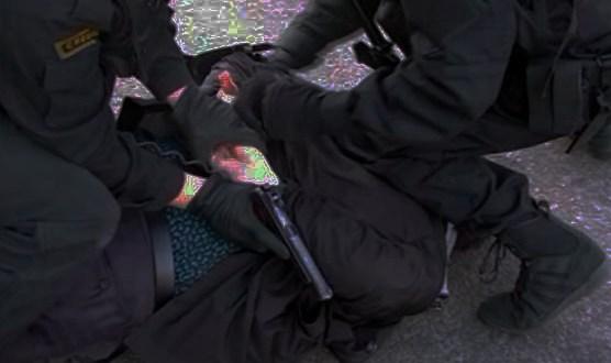 Видео задержания банды вымогателей в Симферополе