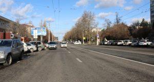 В Севастополе досрочно завершили ремонт дорожного покрытия проспекта Генерала Острякова