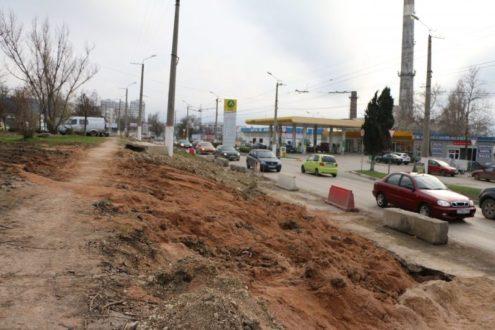 В Севастополе закончили ремонт магистральной теплотрассы на ул. Хрусталева