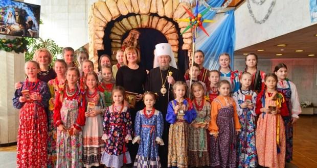 Архиерейская Рождественская ёлка в Симферополе