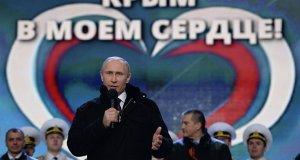 Присоединение Крыма к России является главным достижением Президента Владимира Путина