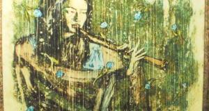 В ялтинской галерее «Почерк» - выставка «Флейта сякухати»