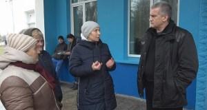 Сергей Аксёнов во главе «правительственного десанта» побывал на севере Крыма