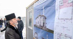 Под Симферополем, в селе Дубки, начали строить мечеть