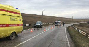 ДТП на дороге «Нижнегорский – Белогорск». Трое пострадавших