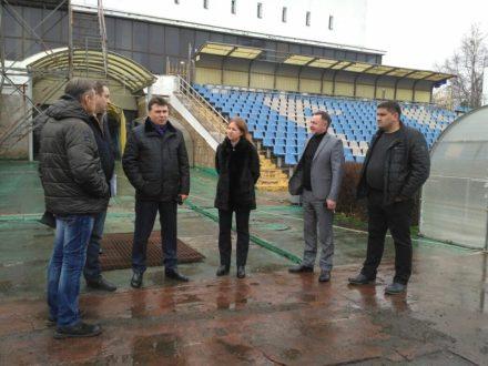 В Симферополе идет реконструкция стадиона «Локомотив»