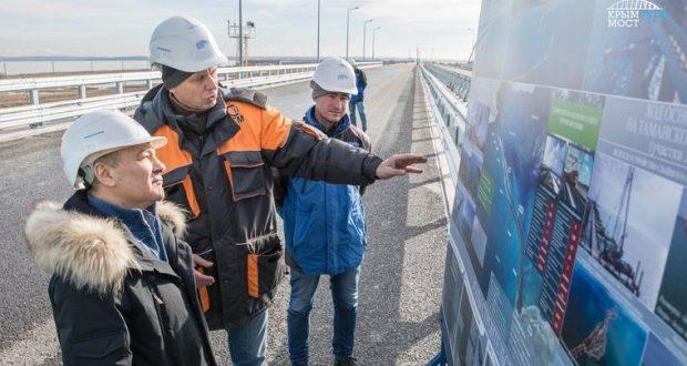 Крымский мост: строительство железной дороги в 2018 году выйдет на пиковую мощность