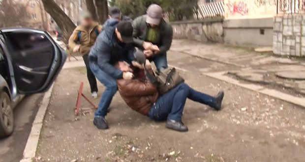 Подробности задержания в Симферополе украинского шпиона