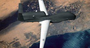 Американский стратегический беспилотник провел разведку у Черноморских границ России