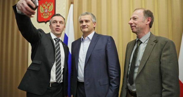 Сергей Аксёнов провёл встречу с делегацией немецких депутатов, прибывших в Крым