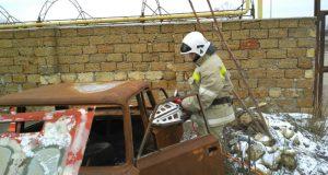 «КРЫМ-СПАС» ломает старые машины, чтобы спасать человеческие жизни