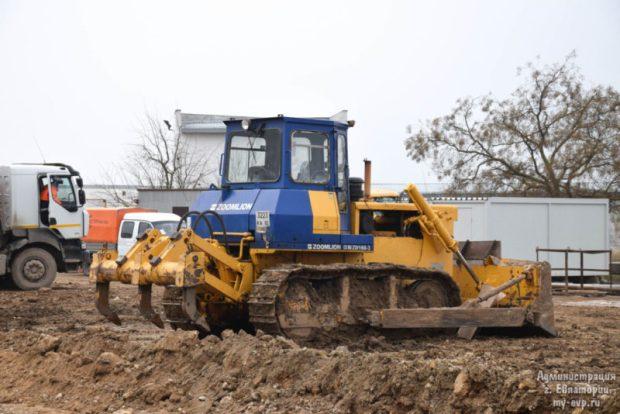В Евпатории стартовали работы по реконструкции улично-дорожной сети