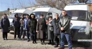Керченская станция «Скорой помощи» получила новый автомобиль