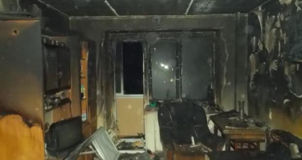 На пожаре в Евпатории спасены двое пожилых людей