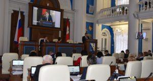 Депутаты не поддержали законопроект об отзыве губернатора Севастополя