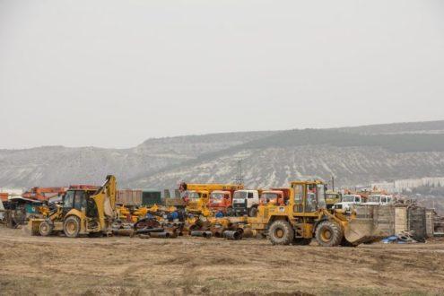 В рамках федеральной целевой программы в Севастополе начато строительство газопровода