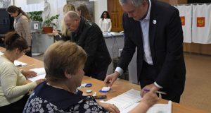 Итоги голосования на выборах президента РФ. Крым