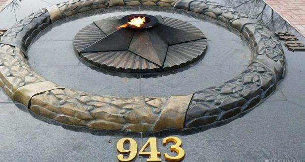 В Керчи Вечный огонь снова повредили вандалы