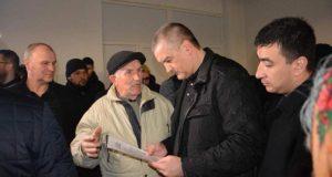 Сергей Аксёнов в Евпатории встретился с активом микрорайона Исмаил-Бей
