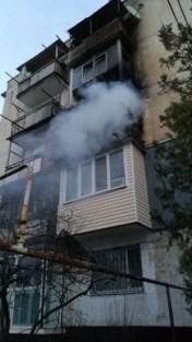 Пожар в пгт. Нижнегорский. Эвакуированы 15 человек, одна женщина - в больнице