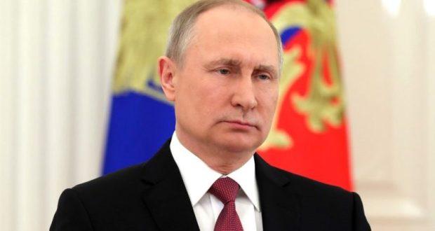 Официально: Президент России - Владимир Путин. Обращение главы государства