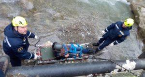 Молодой мужчина упал с высоты в русло реки Водопадной в Ялте