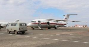 Спецборт МЧС России доставил тяжелобольную женщину из Симферополя в Санкт-Петербург