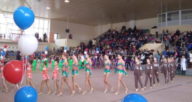 В Симферополе состоялся открытый чемпионат города по эстетической гимнастике и открытый турнир «Весталия»
