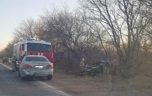 Утреннее массовое ДТП на трассе «Симферополь – Джанкой». Виноват лёд?