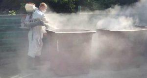 Глава Симферополя уверен: городу нужна машина для мойки мусорных баков