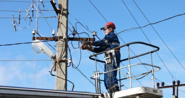 Аварийные отключения электроэнергии в Крыму
