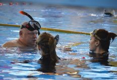 Анастасия Чечёткина — победитель первенства России по подводному плаванию