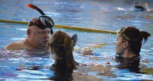 Анастасия Чечёткина - победительница первенства России по подводному плаванию