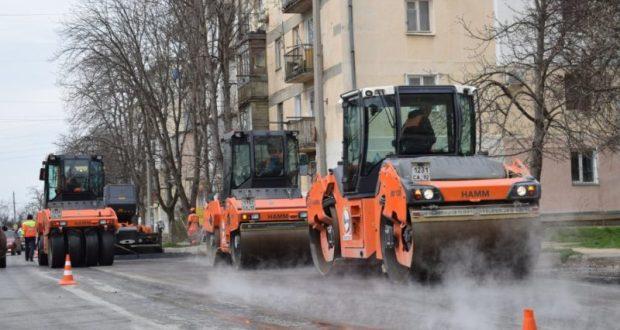 В Севастополе назвали соки завершения ремонта улиц Пролетарской и Маршала Крылова