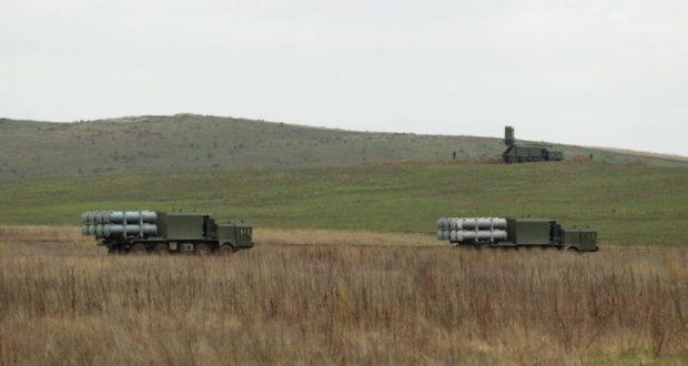Учения ракетчиков Черноморского флота