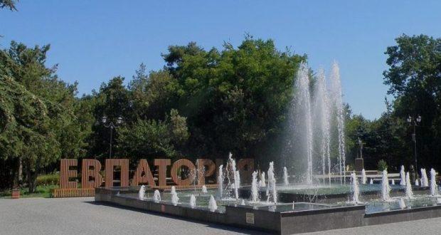 В Евпатории создадут 18-метровый сухой фонтан