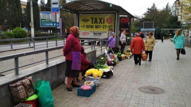 """В Ялте уличные торговцы должны буду заплатить 428 тысяч рублей """"штрафных"""""""