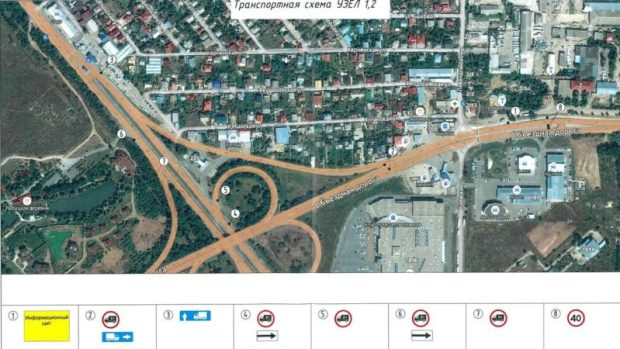 С 13 апреля запрещено и ограничено движение на нескольких автодорогах Крыма