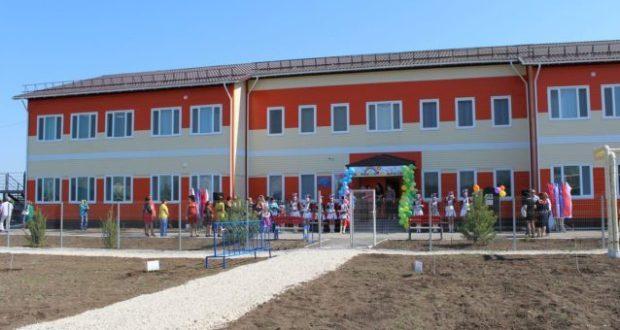 В Красногвардейском районе открыли первый модульный детский сад