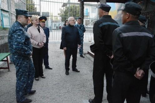СИЗО и колонию в Симферополе осмотрел советник Президента РФ